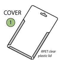 PET Plastic Cover
