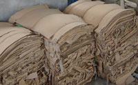 Recycled Cardboard Raw Materials