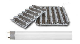 T8 Linear Light Bulb Trays