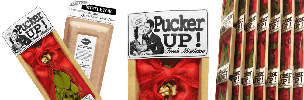 Pucker Up! Fresh Mistletoe - Product Packaging