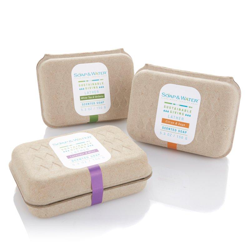 Soap Amp Water Semi Custom Clamshell Deboss Sustainable