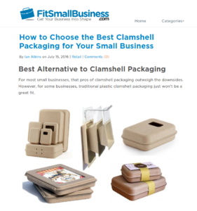 Best Alternative to Plastic Clamshell Packaging - Fit Small Business