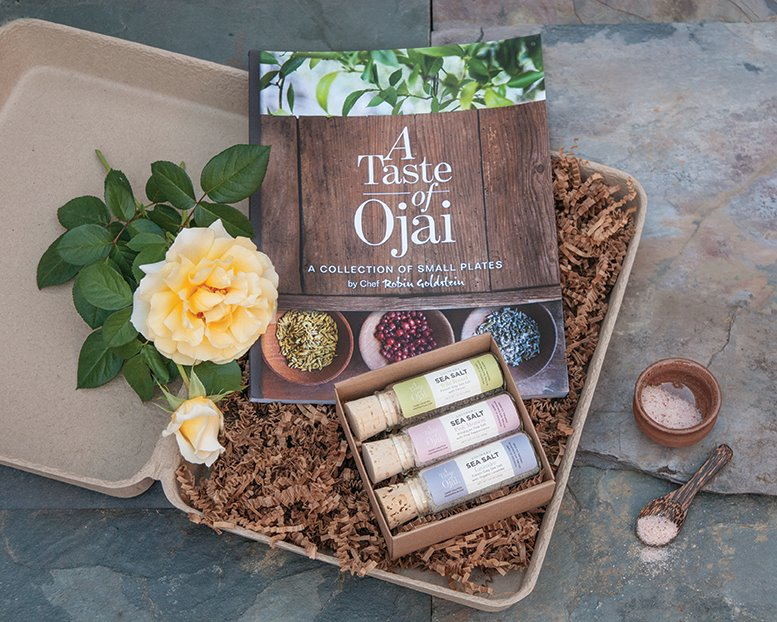 Sea Salt and Cookbook Gift Box Set
