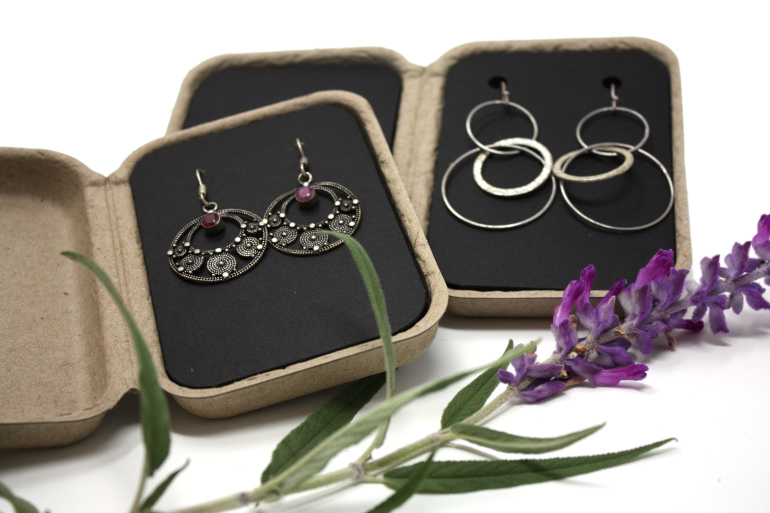 Jewelry Boxes Eco Friendly Packaging For Rings Necklaces And Bracelets